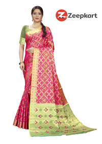 ZK Gajri Soft Silk Saree