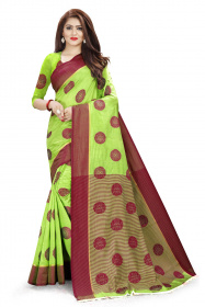 DD1006 Perrote Colour Dyed Kanchivaram Silk Saree