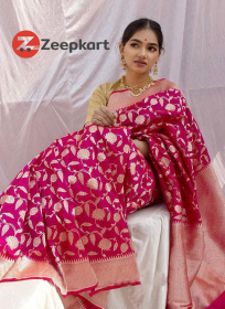 ZK Rani Colour Soft Silk Saree